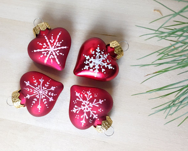 Nordic Hearts Ornament Set