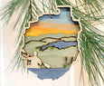 Adirondack Park Kayak Ornament