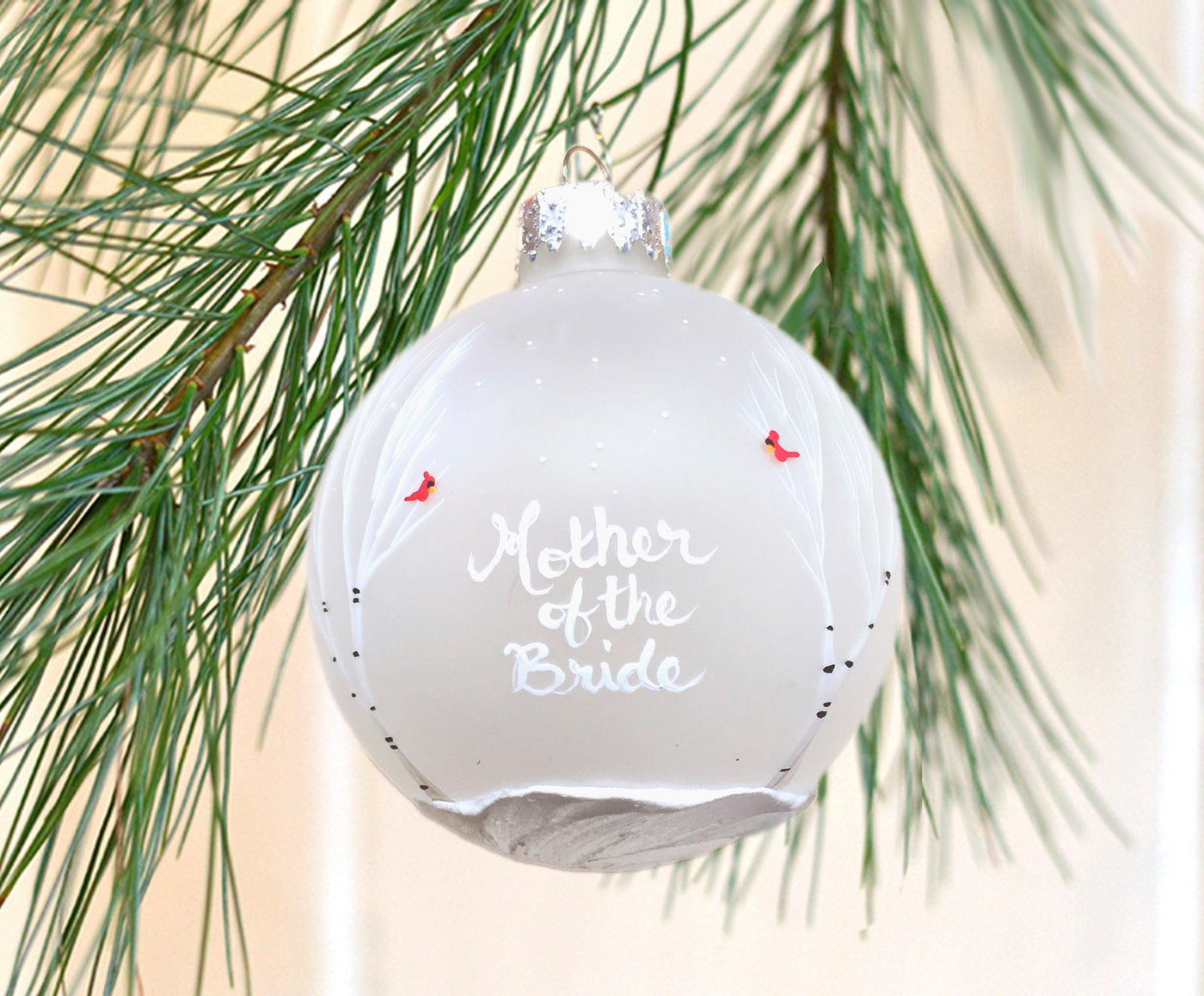 Mother of the Bride Ornament