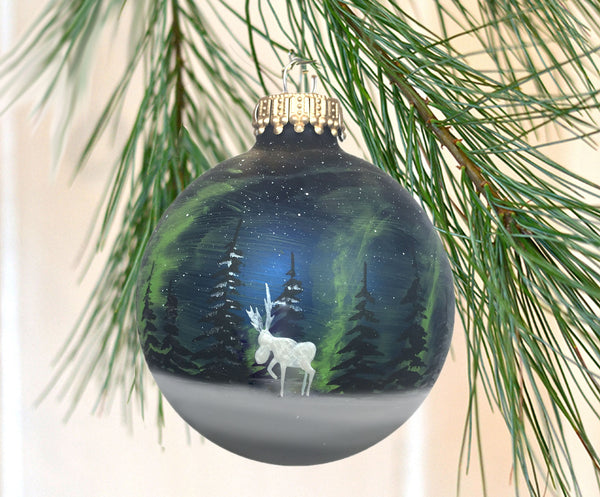 Northern Lights - Arctic Animal Ornament