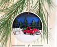 Tree Farm Visit Ornament
