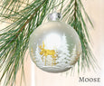 Golden Forest Ornament
