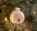 Cardinal ornament Christmas tree decoration