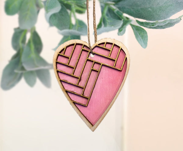 valentine's day ornament