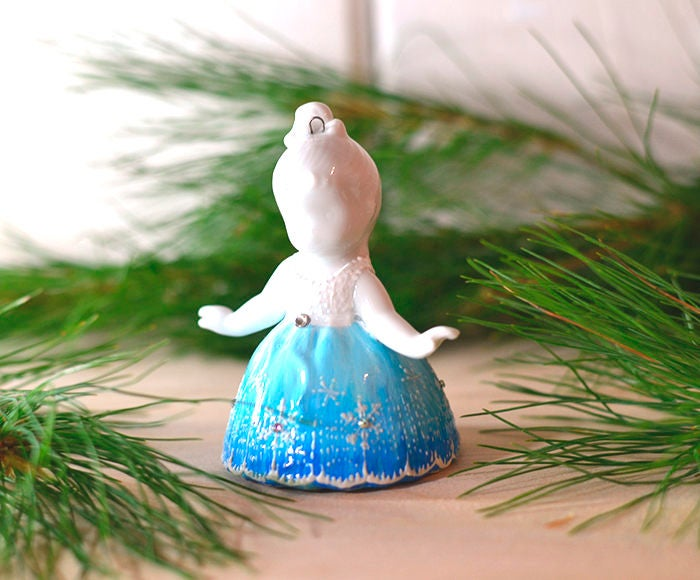 Nutcracker Collection - Snowflake Ballerina Ornament