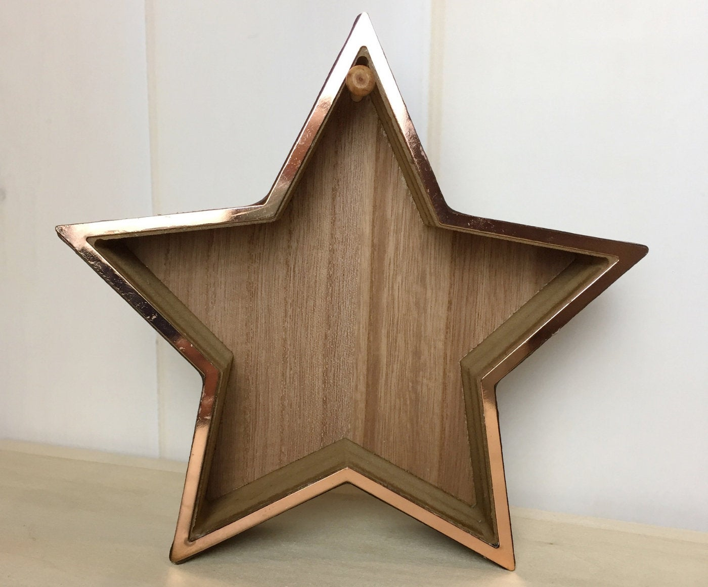 Wooden Star Ornament Stand