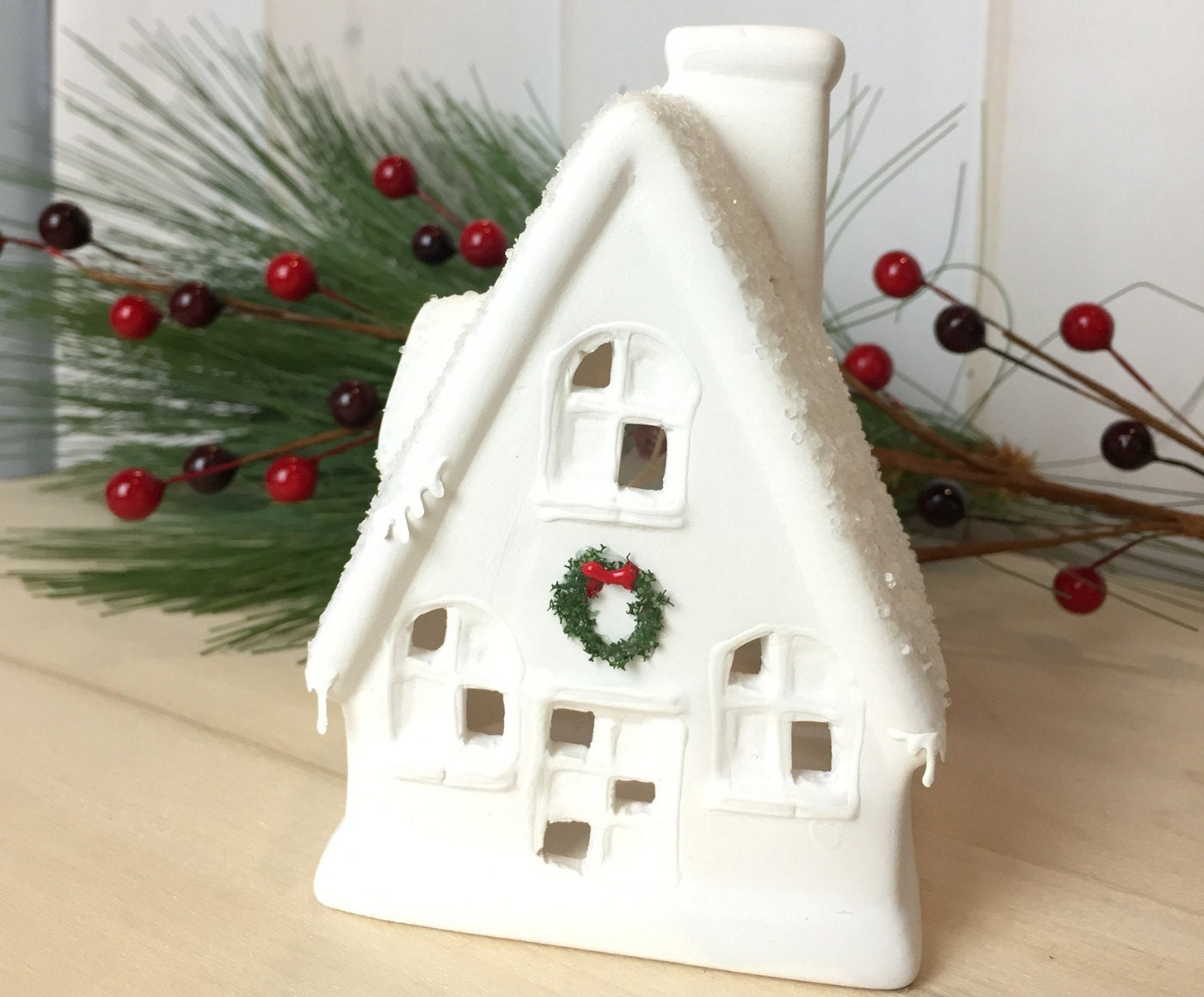 Christmas Village - A-frame House