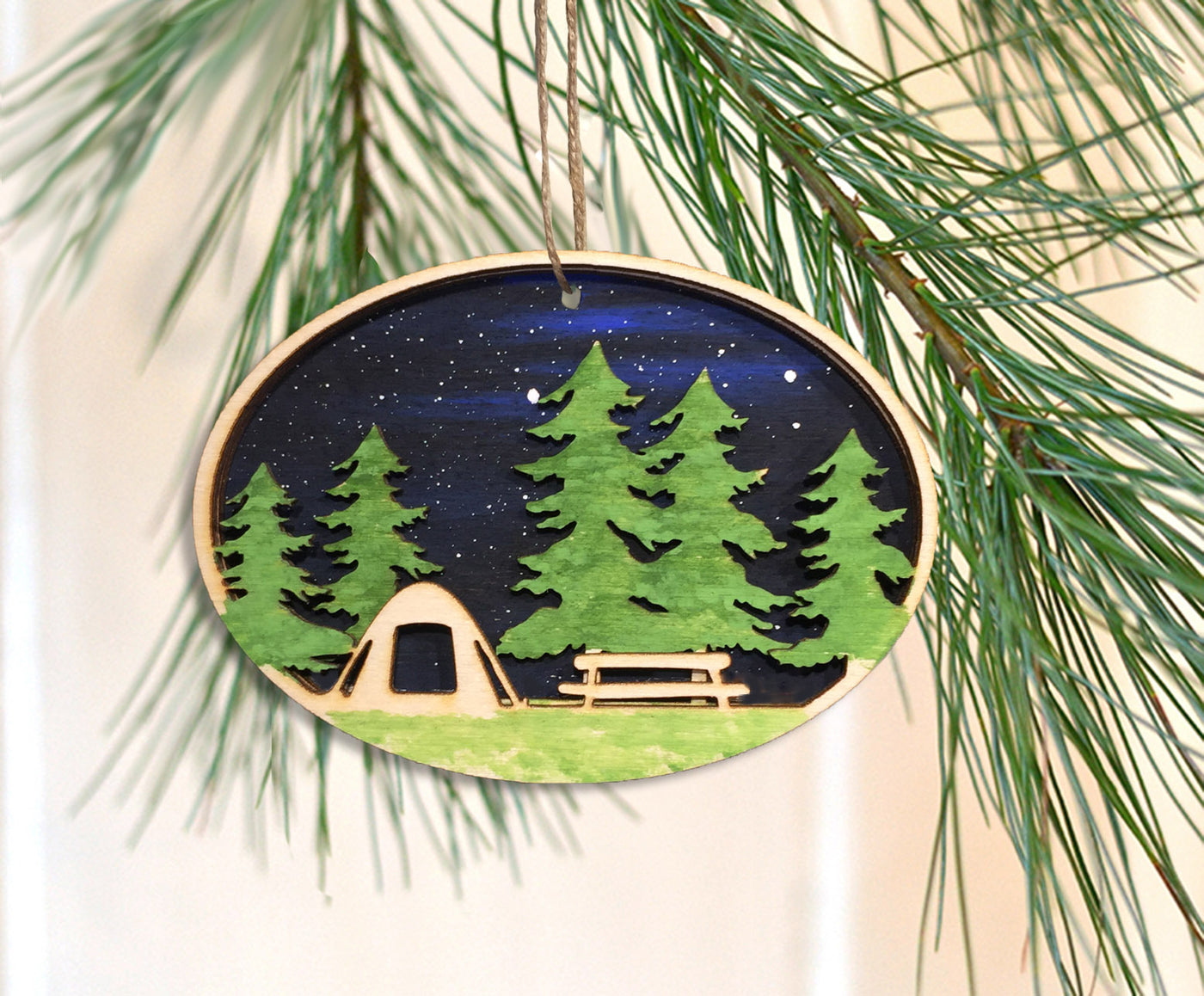 Campout Ornament