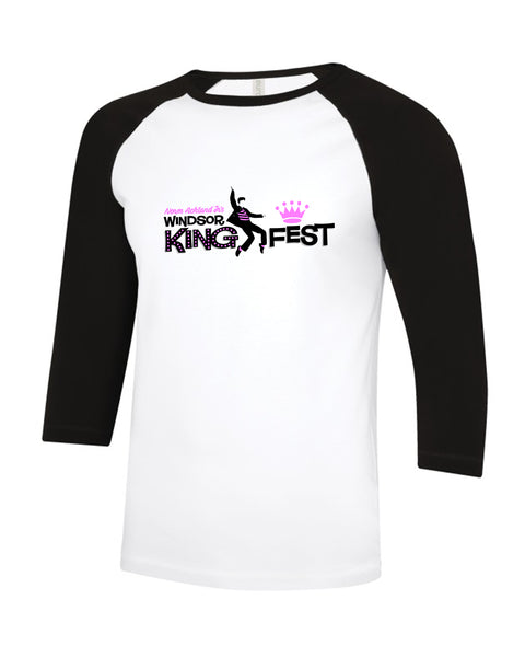 King Fest Adult Baseball Tee