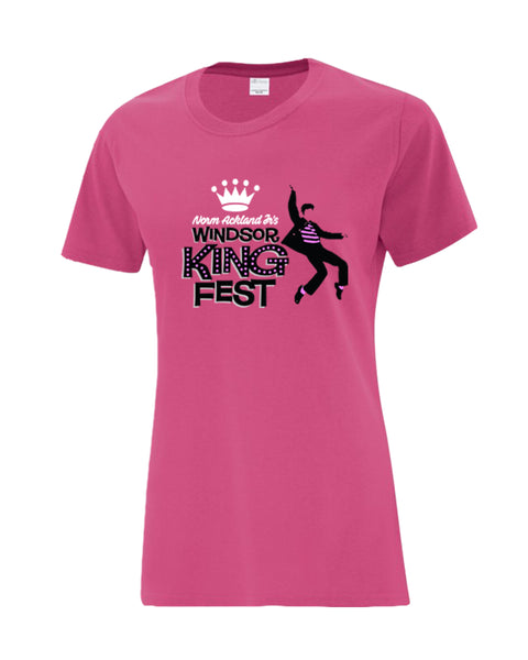 King Fest Ladies Cotton Tee