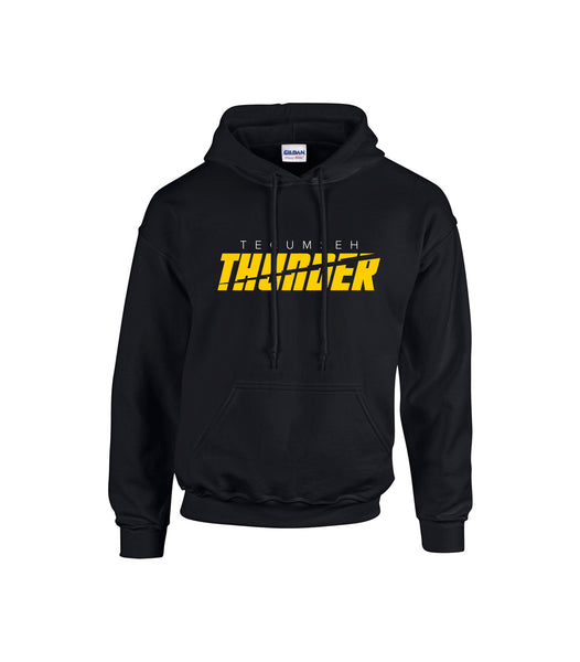 Tecumseh Thunder 'Bolt Cut' Youth Cotton Hoodie