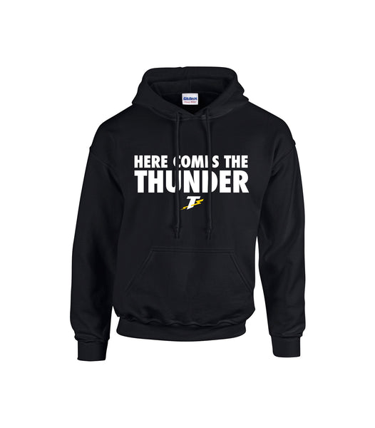 Tecumseh Thunder 'Here Comes the Thunder' Adult Cotton Hoodie