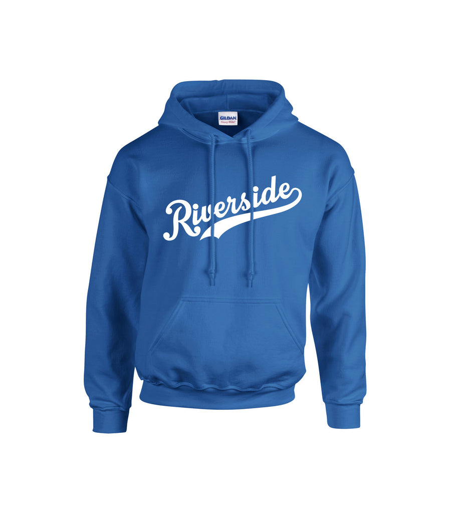 Riverside Royals 'Riverside Slant' Adult Cotton Hoodie