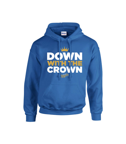 Royals Adult 'Down With the Crown' Cotton Hoodie