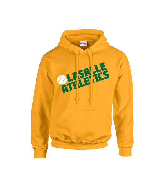 Athletics Youth 'Block Slant' Cotton Hoodie