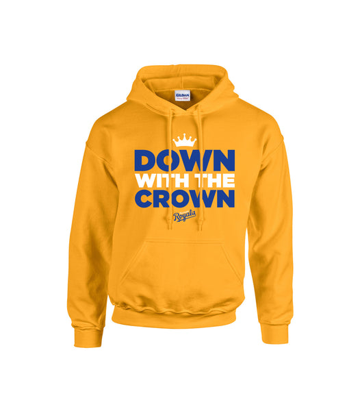 Riverside Royals 'Down With the Crown' Adult Cotton Hoodie