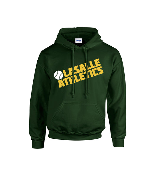 Athletics Adult 'Block Slant' Cotton Hoodie