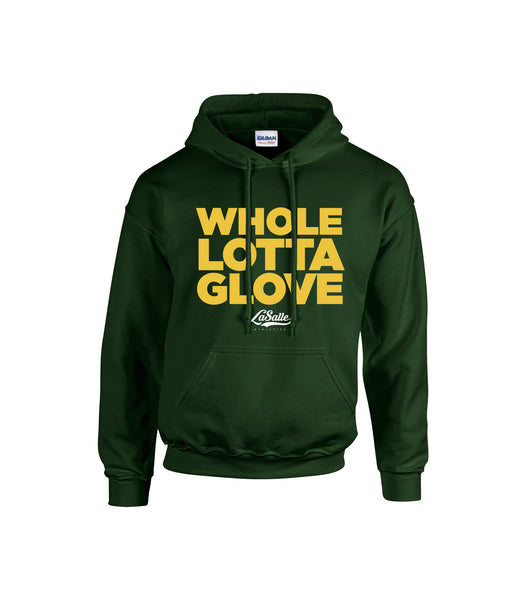 LaSalle Athletics 'Whole Lotta Glove' Adult Cotton Hoodie