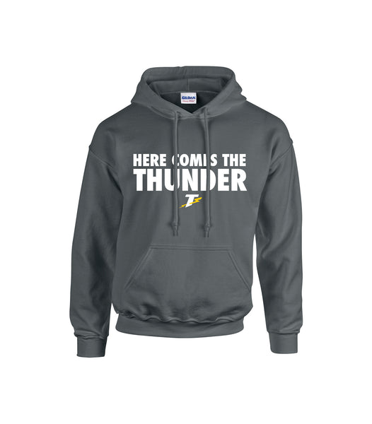 Thunder Adult 'Here Comes the Thunder' Cotton Hoodie