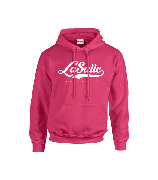 LaSalle Athletics 'Alternate Script' Adult Cotton Hoodie
