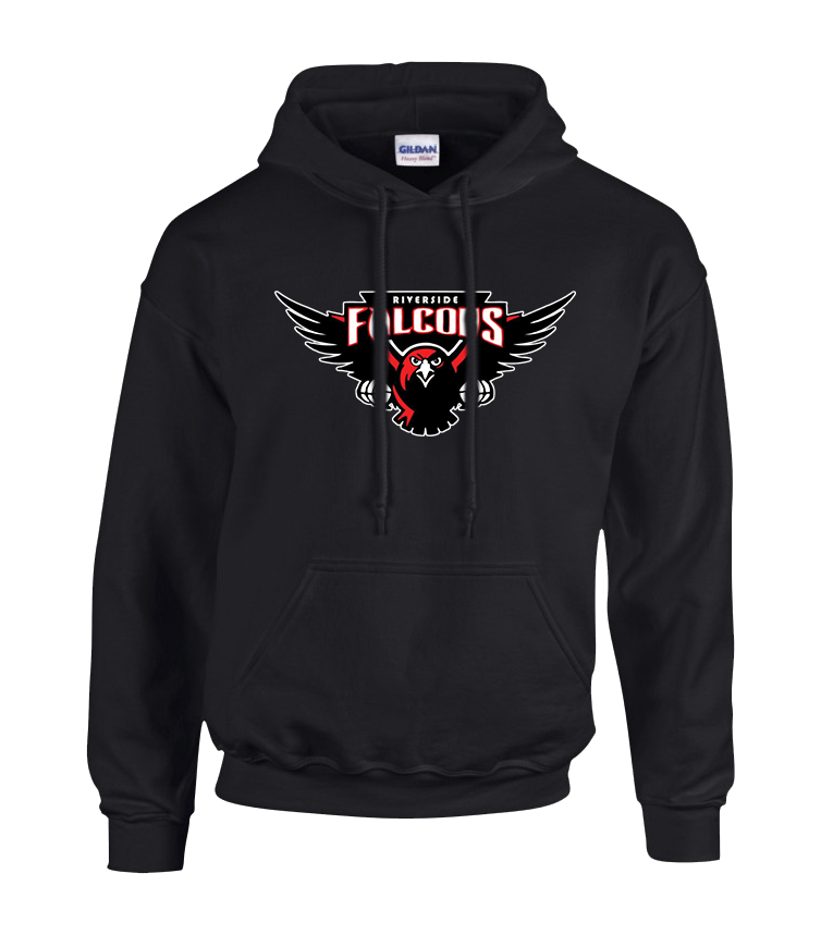 Falcons Youth Cotton Pull Over Hooded Sweatshirt