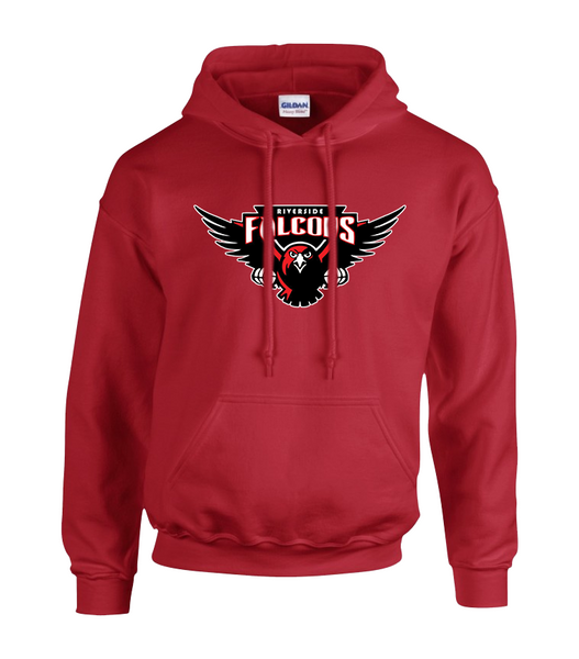 Falcons Adult Cotton Pull Over Hooded Sweatshirt