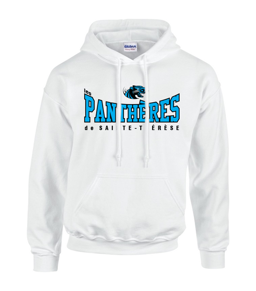 Pantheres Youth Cotton Pull Over Sweatshirt with Embroidered Applique Logo