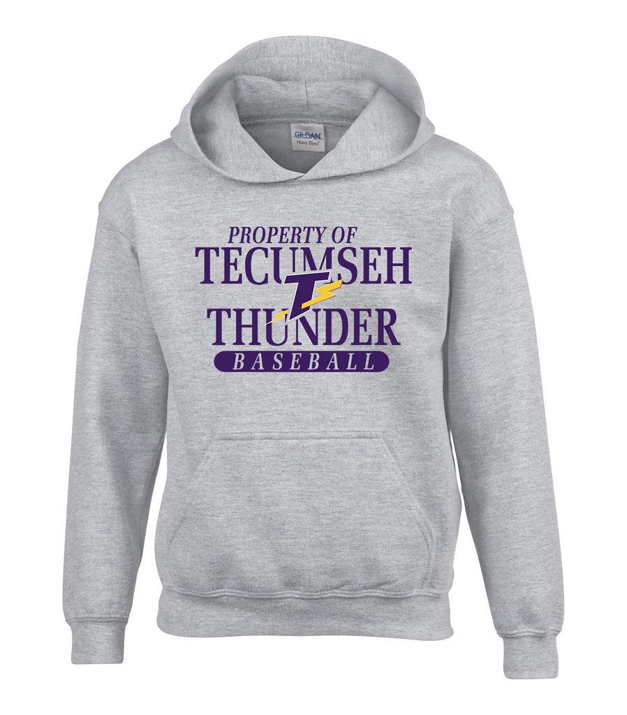 Thunder Youth 'Property of Tecumseh Thunder' Cotton Hoodie