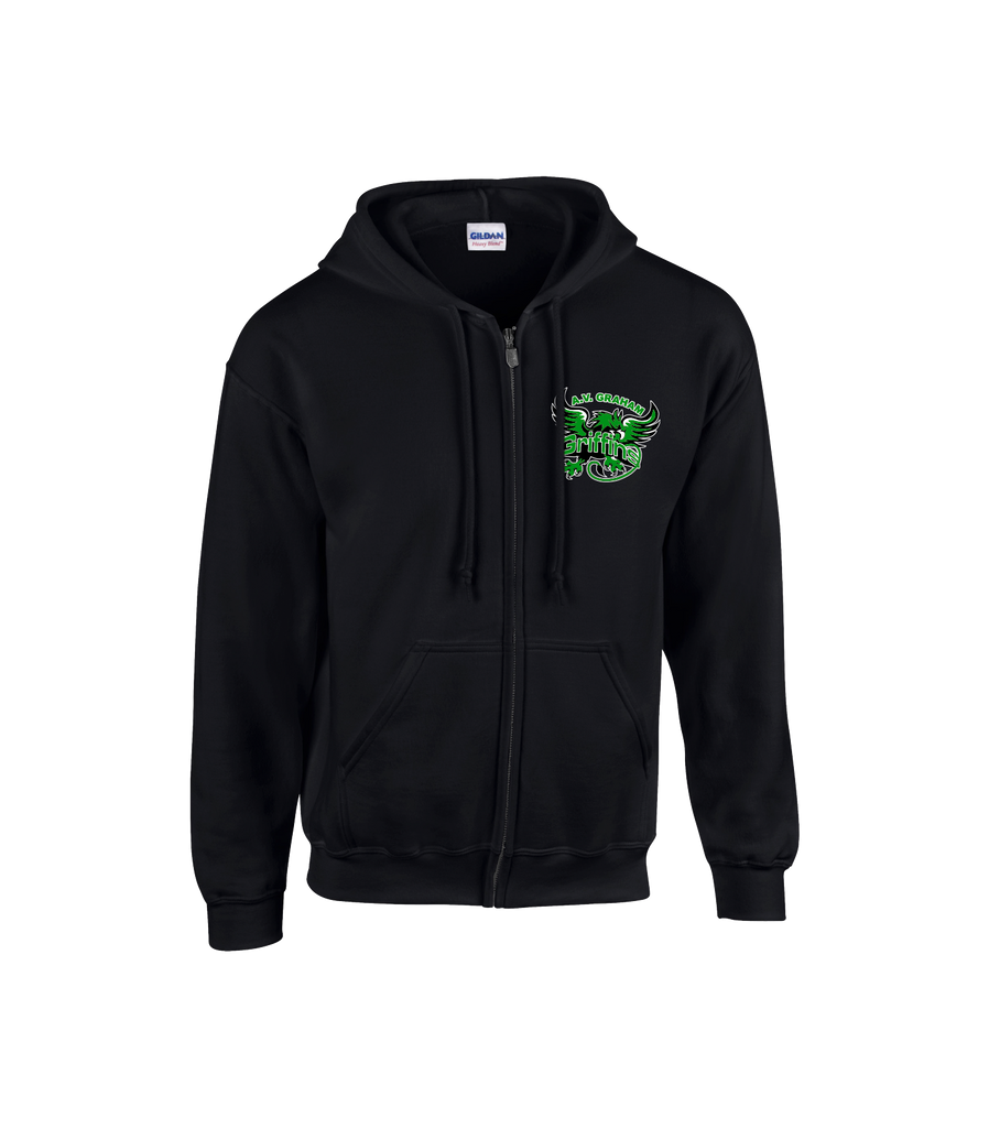 Griffins Adult Cotton Zip Hoodie