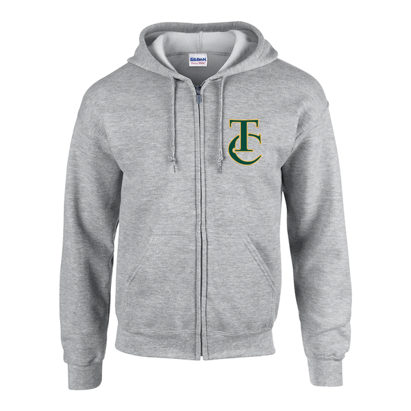 Turtle Club TC Cotton Zip-Up Hoodie
