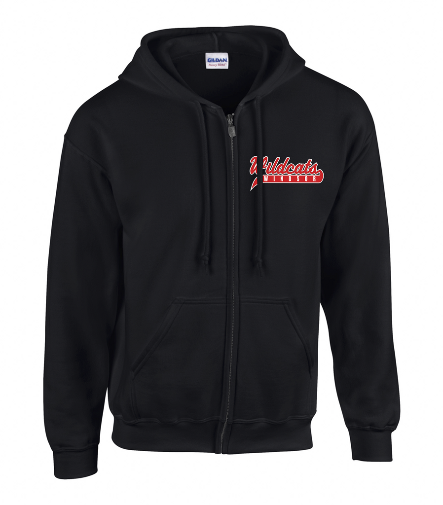 Wildcats Softball Youth Zip-Up Hoodie