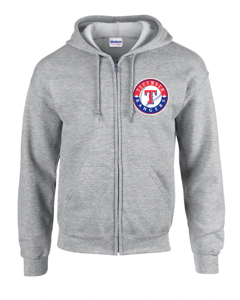 Rangers Adult Zip-Up Hoodie