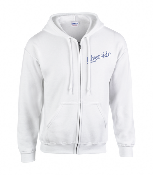 Royals Adult Zip-Up Title Logo Hoodie