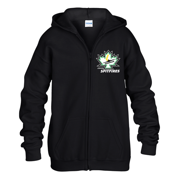 Minor Hockey Youth Zip-Up Hoodie