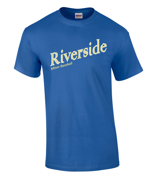 Riverside Minor Baseball Adult Royals Tee