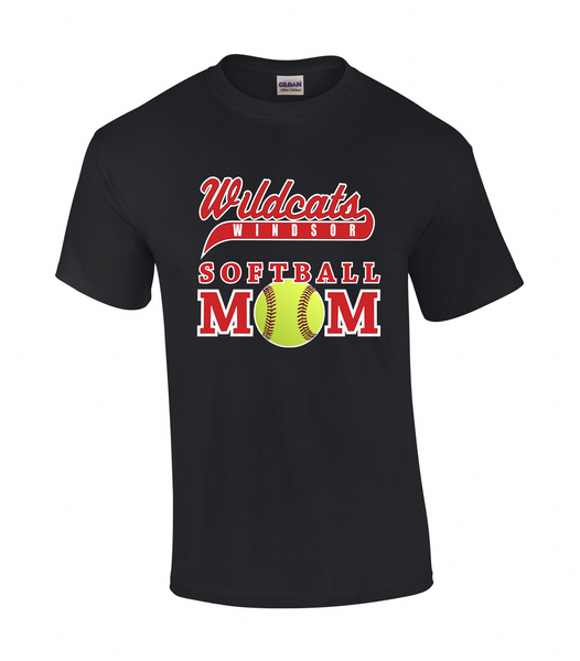 Windsor Wildcats Softball Mom Tee