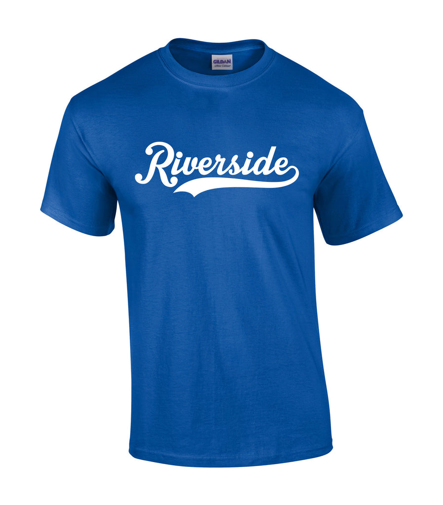 Riverside Royals 'Riverside Script' Adult Cotton Tee
