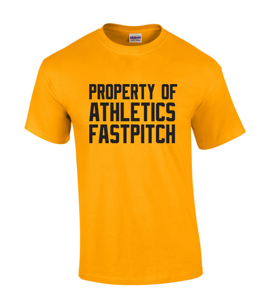 Athletics Adult 'Property of' Cotton Tee