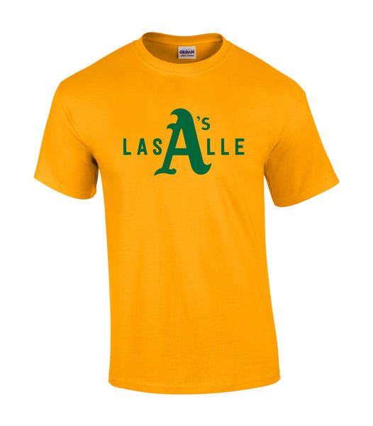 LaSalle Athletics 'LaSalle Big A' Adult Cotton Tee