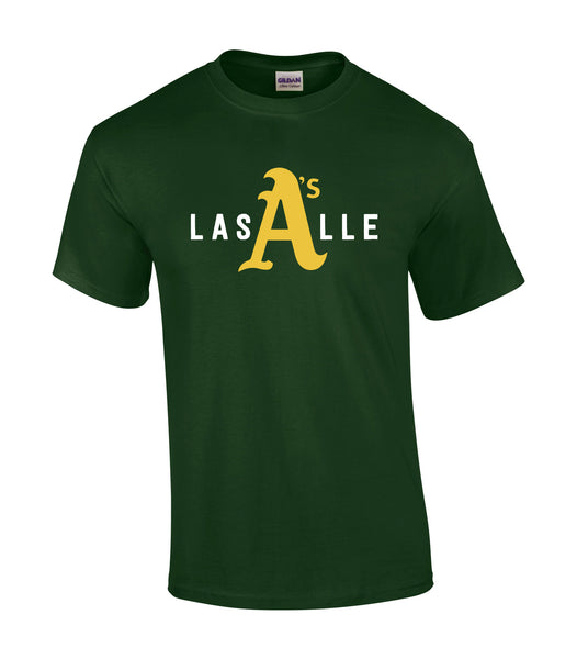 LaSalle Athletics 'LaSalle Big A' Youth Cotton Tee