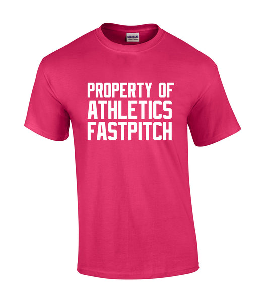 LaSalle Athletics 'Property of' Adult Cotton Tee