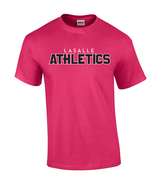 LaSalle Athletics 'Outline Block' Youth Cotton Tee
