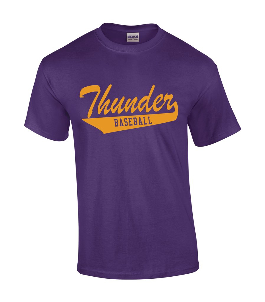 Thunder Adult Tail Logo Tee