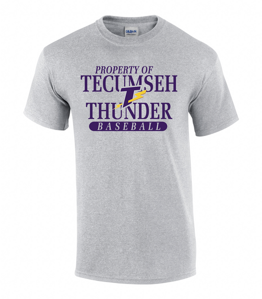 Property of Tecumseh Thunder Adult Tee