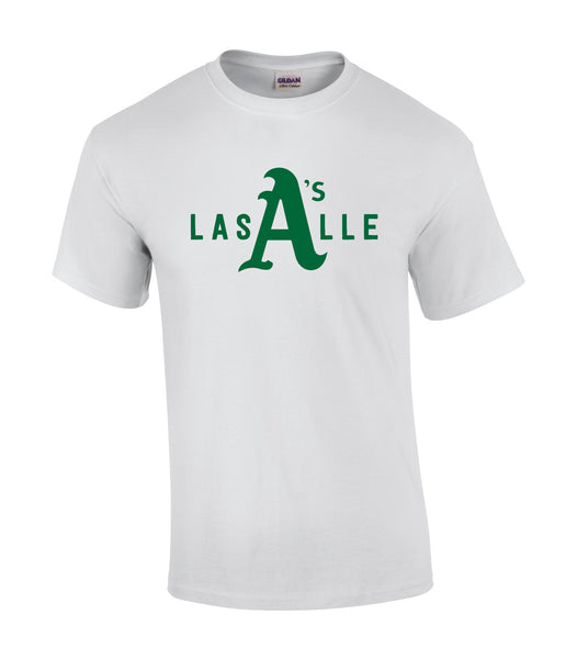Athletics Adult 'LaSalle Big A' Cotton Tee