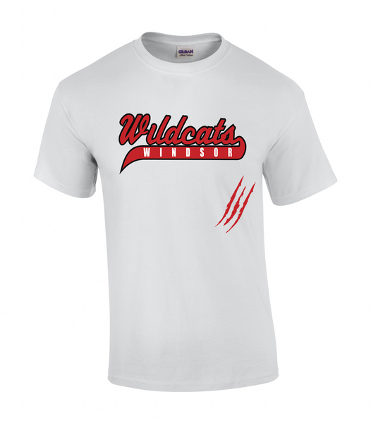 Wildcats Softball Youth Claw Mark Tee