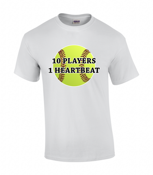 Windsor Wildcats 10 Players 1 Heartbeat Tee