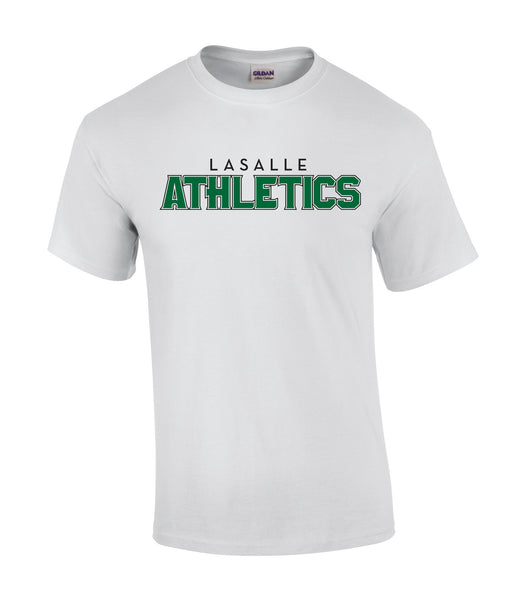 Athletics Youth 'Outline Block' Cotton Tee