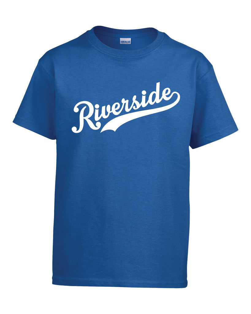 Royals Youth 'Riverside Slant' Cotton Tee