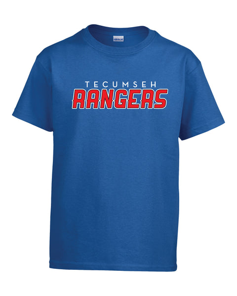Rangers Youth 'Speed Logo' Cotton Tee